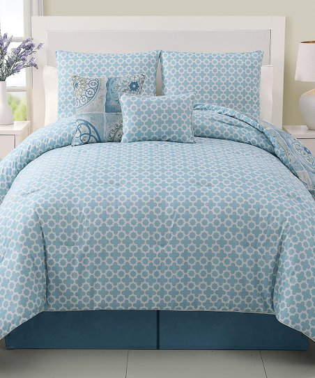 Blue & Green Devon Comforter Set