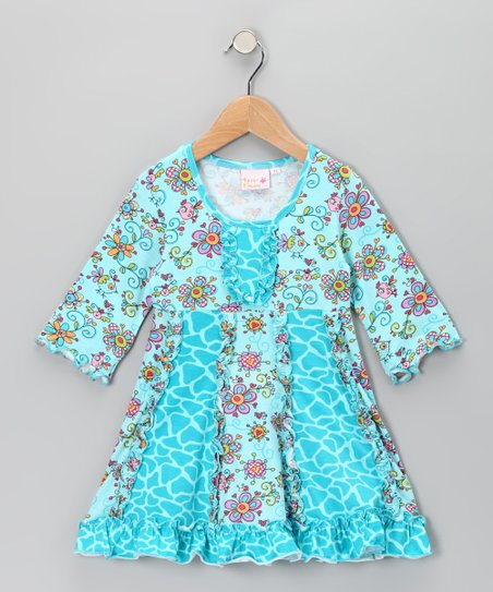 Blue Janea's World Sarah Dress - Toddler