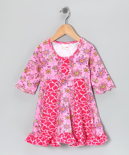 Pink Janea's World Sarah Dress - Toddler