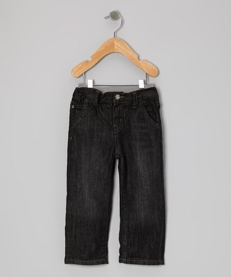 Black Blast Sure2Fit Straight-Leg Jeans - Infant & Toddler