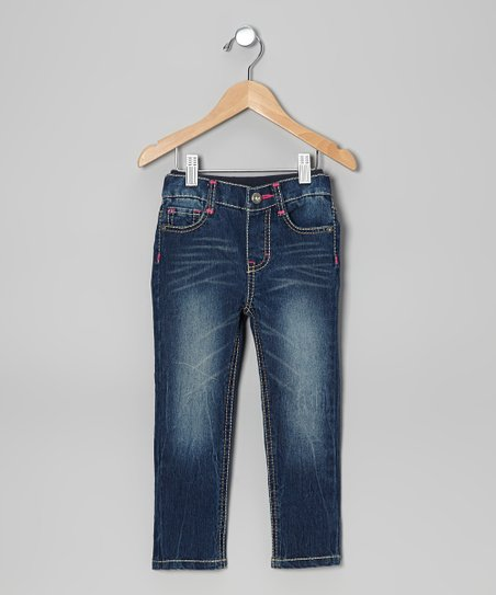 Caribbean Blue Emma Sure2Fit Skinny Jeans - Infant & Toddler