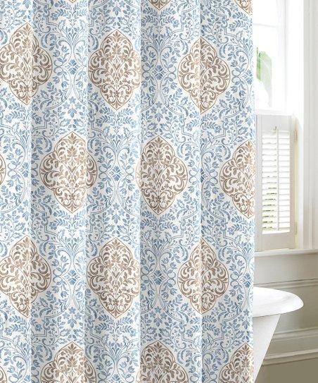 Blue Winchester Shower Curtain