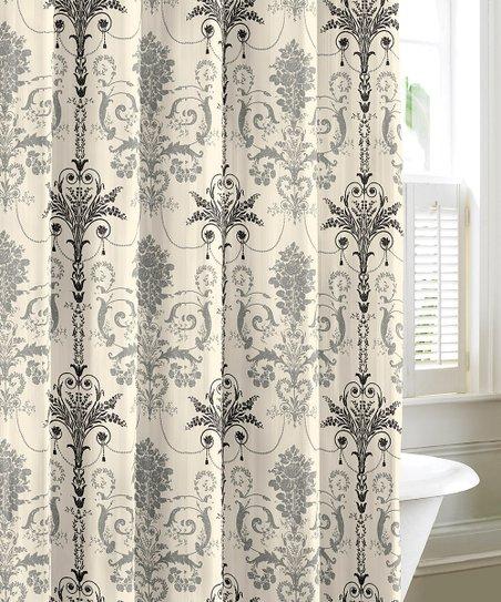 Gray Josette Shower Curtain