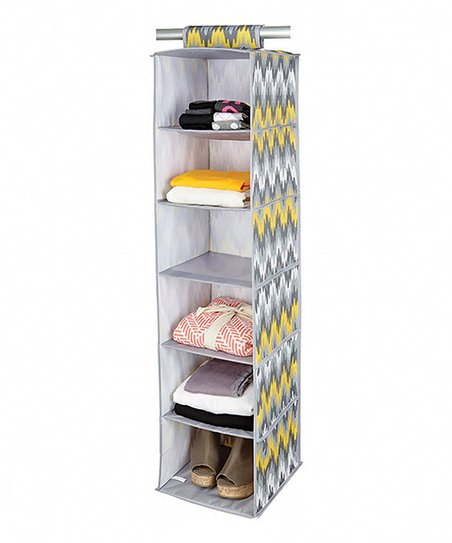 Joni Citron Pop Six-Shelf Hanging Organizer