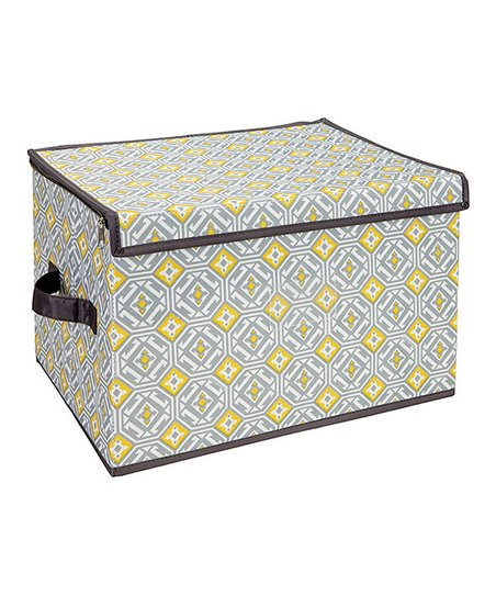 Jeanie Gypsy Large Zippered Storage Box