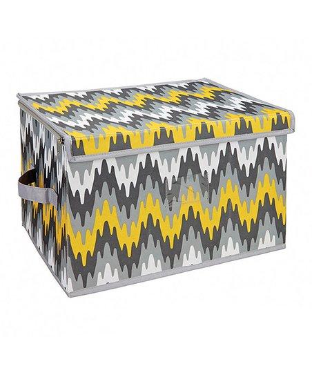 Joni Citron Pop Large Zippered Storage Box