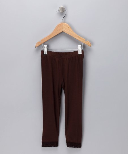 Brown Leggings - Infant, Toddler & Girls