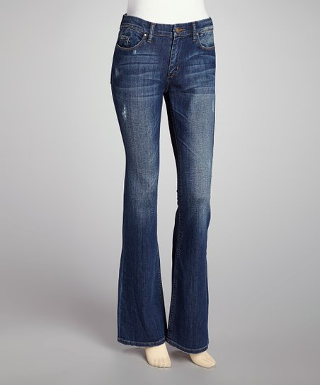 Blue At Risk Flare Jeans