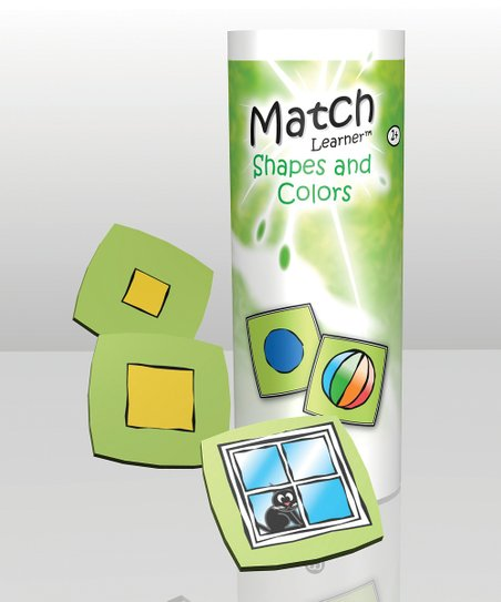 Match Learner Shapes & Colors Game