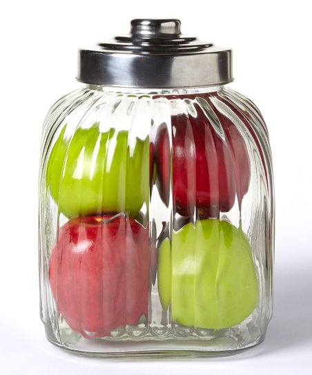 104-Oz. Glass Canister