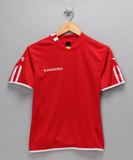 Red Valido Soccer Jersey - Kids & Men