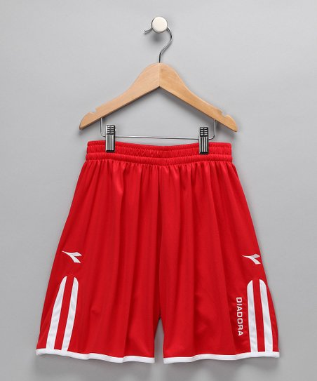 Red Valido Shorts - Kids &amp; Men
