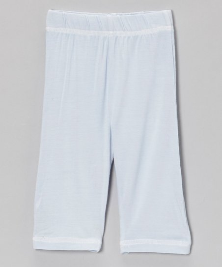 Light Blue Organic Pants - Infant