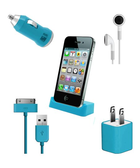 Vibe Blue Ultimate Mobile Set for iPhone/iPod