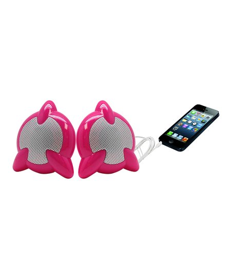 Pink Starburst Speakers