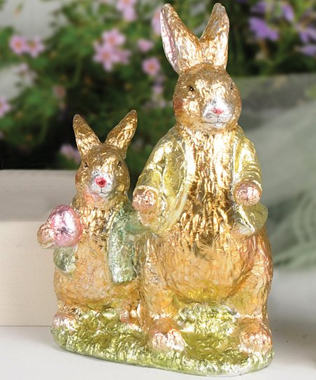 Father & Son Rabbit Collectible