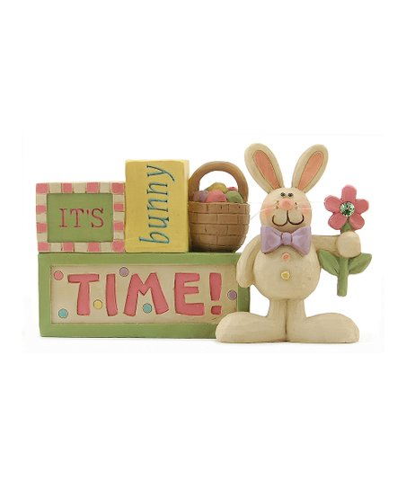 'It's Bunny Time' Block Collectible