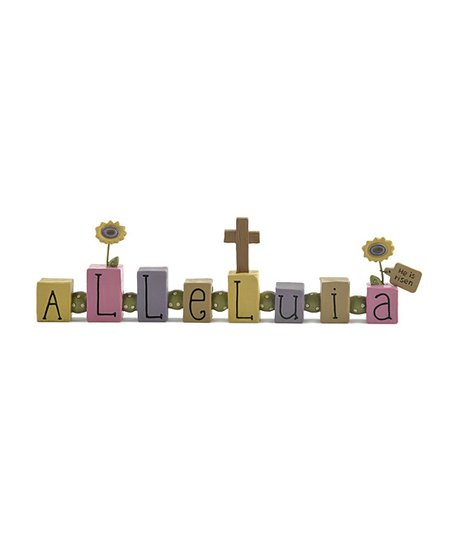 &#039;Alleluia&#039; Bead Block Collectible