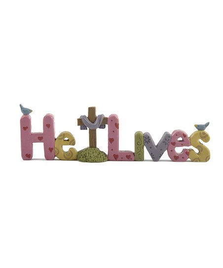 'He Lives' Cross Collectible