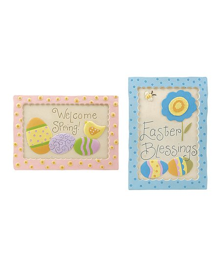'Welcome Spring' Wall Art Set