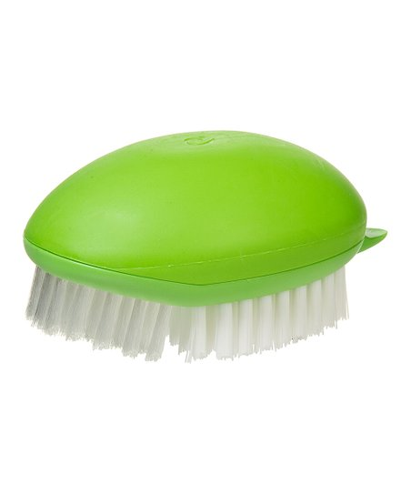 Green Fruit & Vegetable Brush