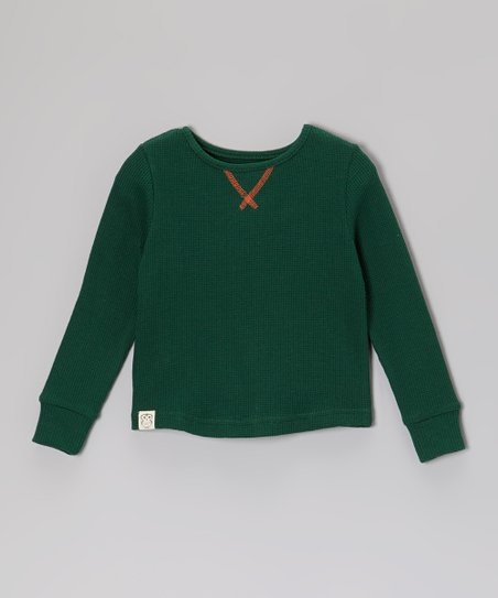Forest Green Thermal - Toddler & Boys