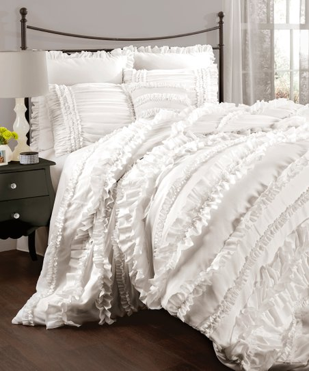 White Belle Comforter Set