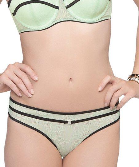 Pistachio Green Serena Thong – Women