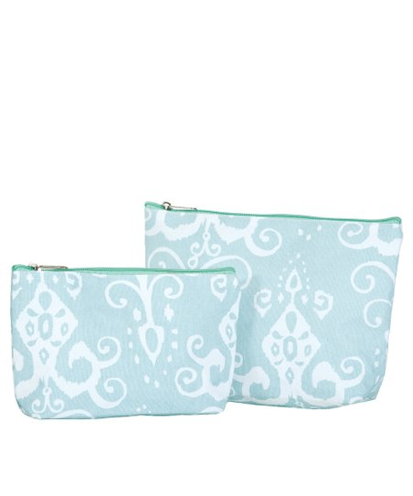 Aqua Roussillion Cosmetic Bag Set