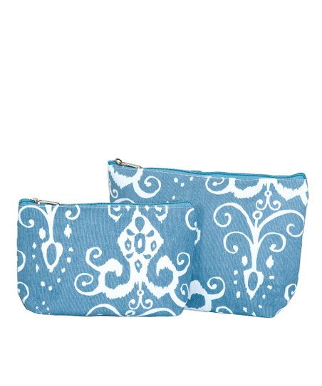 Azure Roussillion Cosmetic Bag Set
