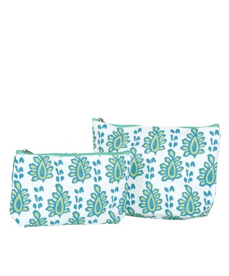 Aqua Arles Cosmetic Bag Set