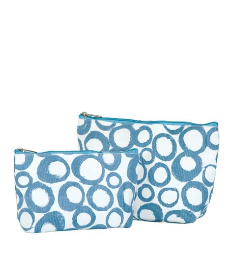 Azure Cassis Cosmetic Bag Set