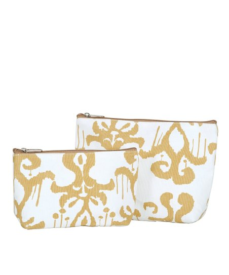 Tan Persia Cosmetic Bag Set