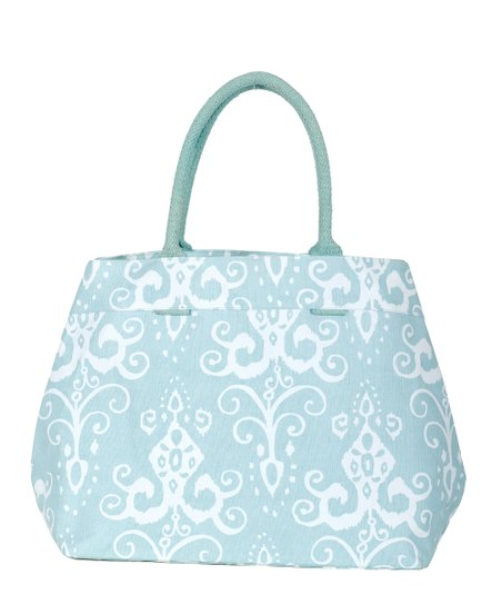 Aqua Roussillion City Tote