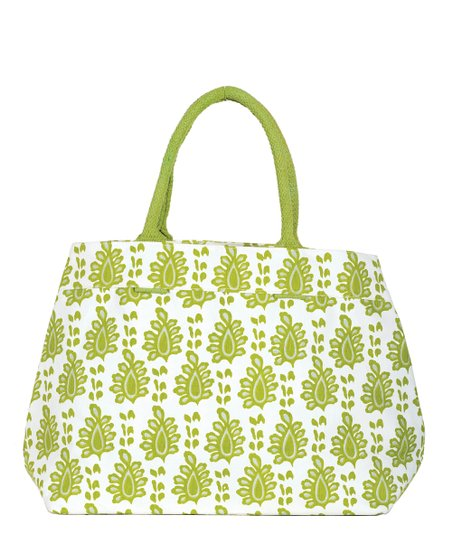 Lime Arles City Tote