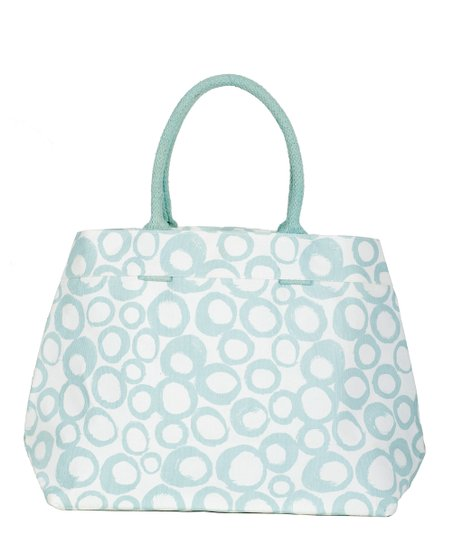 Aqua Cassis City Tote
