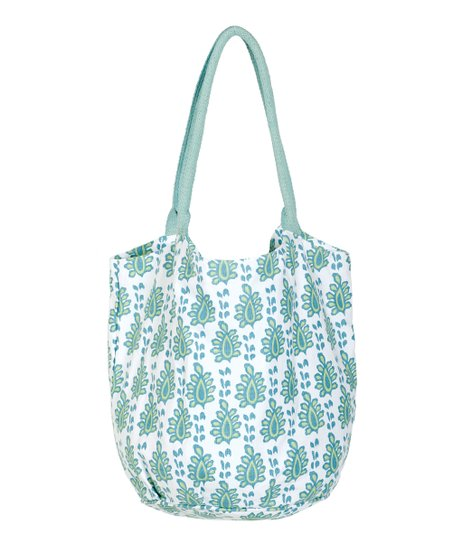 Aqua Arles Beach Bucket Bag