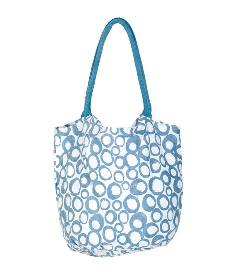 Azure Cassis Beach Bucket Bag