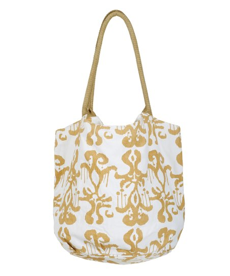 Tan Persia Beach Bucket Bag