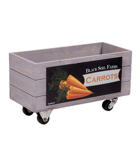 'Carrots' Orchard Wheeled Box