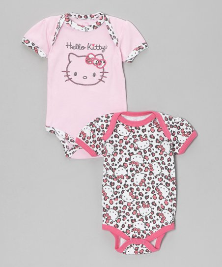 Dark Pink Bodysuit Set - Infant