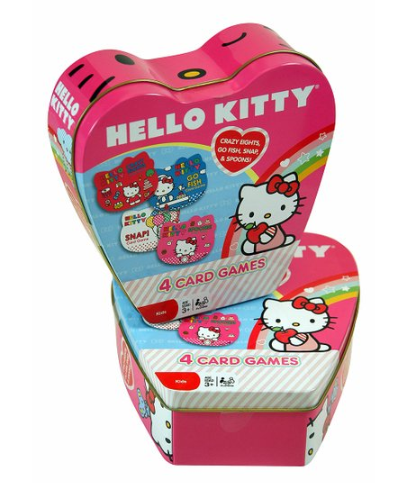 Hello Kitty Card Game Tin