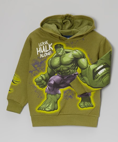 Green Hulk Hooded Sweatshirt - Toddler & Boys