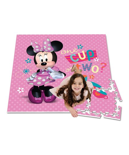 Minnie Mouse Puzzle Play Mat