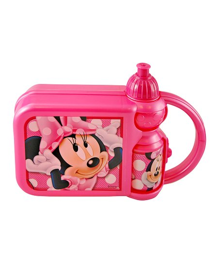 Minnie Mouse Lunchbox & Water Bottle