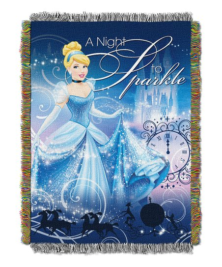 Cinderella Tapestry Throw