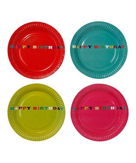 Birthday Bash Plate - Set of Eight