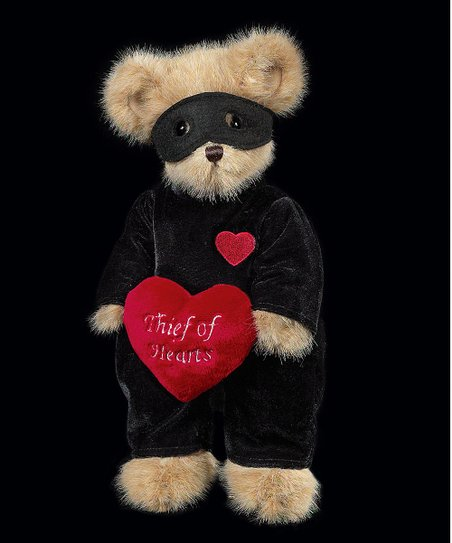 Black & Tan 'Thief of Hearts' Plush Toy