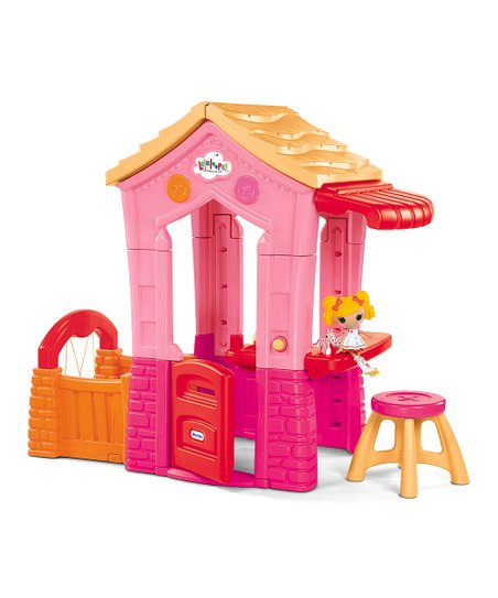 Lalaloopsy Playhouse & Splatter Splash Doll Set