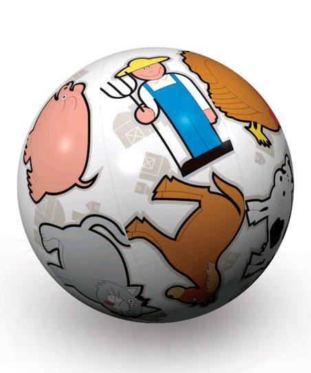 Clever Catch Toss 'n' Talk Farm Animals Ball